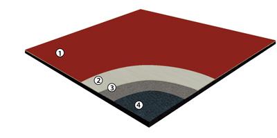 Elastiplus Series Flooring System Athletic Flooring