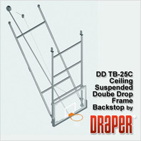 Draper DDTB-25C Basketball Backstop