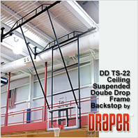 Draper DDTS-21 Basketball Backstop