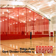 Draper Ridge-Fold Gym Dividers