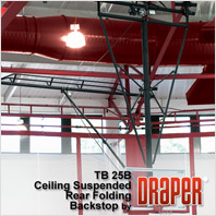Draper TB-25 Basketball Backstop