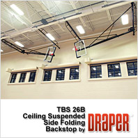 Draper TBS-26-B Basketball Backstop