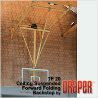 Draper TF-20 Basketball Backstop