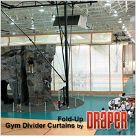 Draper Fold-Up Gym Dividers