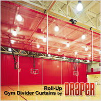 Draper Roll-Up Gym Dividers